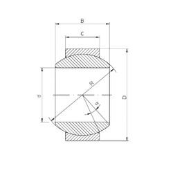 Bantalan GE180FO-2RS ISO